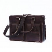 Laptoptas Two Pocket L - Bruin