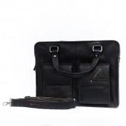 Laptoptas Two Pocket XL - Zwart
