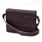 Laptoptas Middle flap Low - Bruin